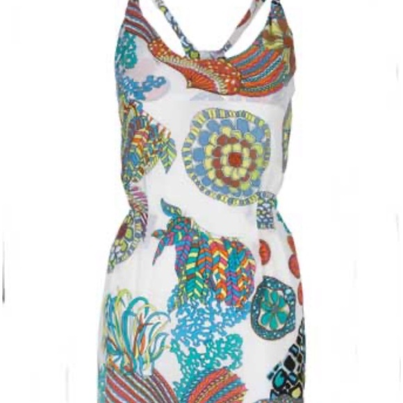 NWOT Trina Turk for Banana Republic Silk Dress